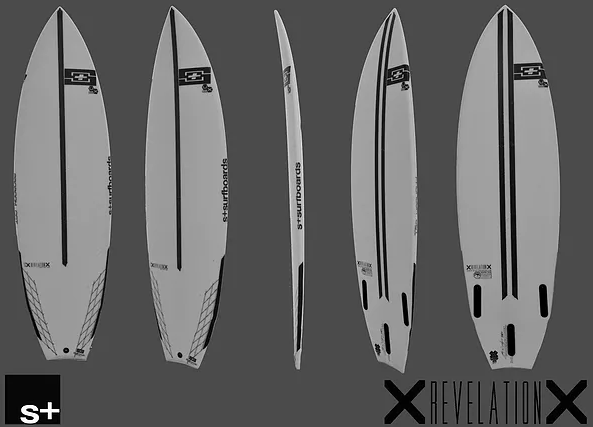 Kite Surf S+Surfboards Revelation 2021